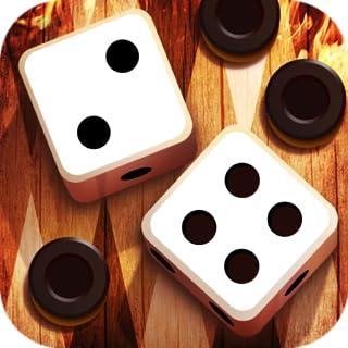 Fire Backgammon 3D - Strategy Board Game: backgammon es juego de mesa, entrenamiento de tu cerebro, estrategia logica y táctico, tirar dados magico, para todos que le gustan ajedrez y rompecabezas