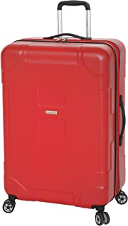 Travel - Large Suitcase Hardshell With Spinner Goodyear Wheels - Luggage Hard Case - Red