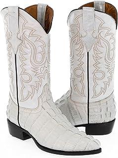 d10e5bd6ca68e Amazon.com: White - Western / Boots: Clothing, Shoes & Jewelry