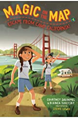 Magic on the Map #4: Escape From Camp California Kindle Edition