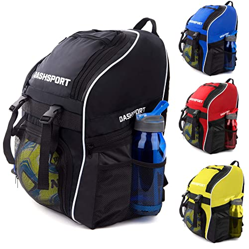 625560f043e Soccer Backpack - Basketball Backpack - Youth Kids Ages 6 and Up - with  Ball Compartment