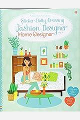 Sticker Dolly Dressing Fashion Designer Home Designer Paperback