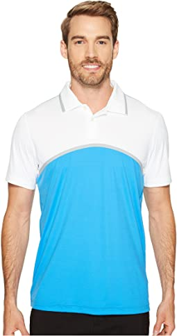 Tailored Color Block Polo