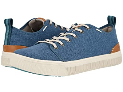 TOMS TRVL LITE Low (Airforce Blue Heritage Canvas) Men