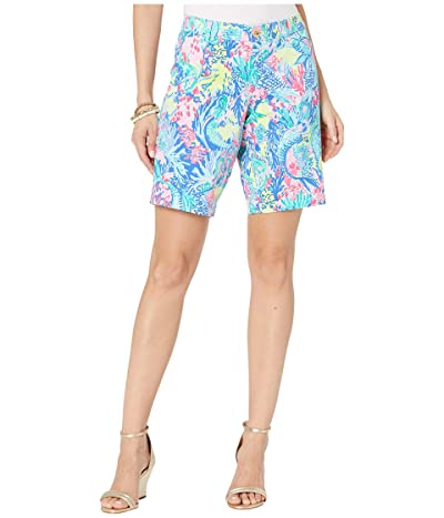 Lilly Pulitzer Bay Ave 10 Shorts (Multi Mermaids Cove) Women