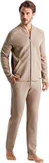 Hanro Men's Dumal Zip Jacket Pajama Top