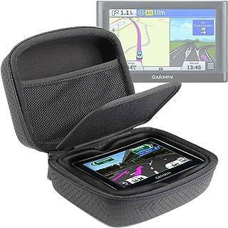 DURAGADGET Carcasa para GPS Garmin Nüvi 56LMT / 2589LMT EU - Separador Protector Y Bolsillo De Rejilla Interno