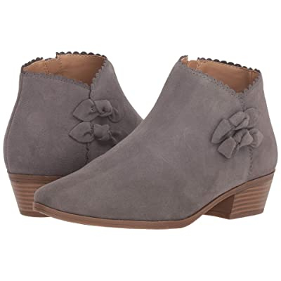 Jack Rogers Kali Suede (Charcoal Suede) Women