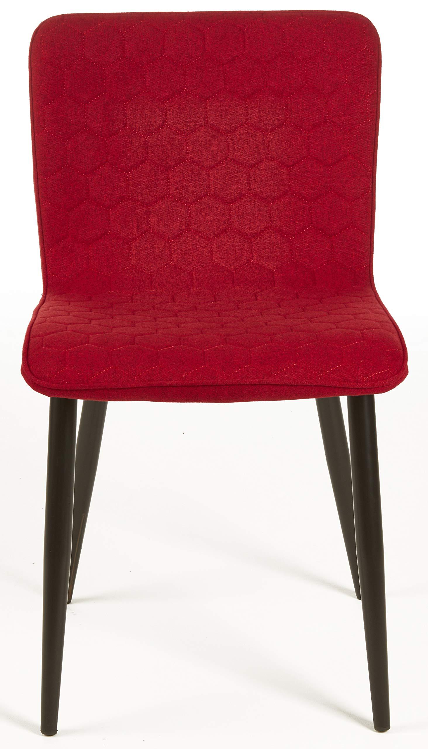 Sedia in Velluto Sala dattesa da Pranzo Gambe in Metallo per Soggiorno Cucina SDC0262-1 eSituro Poltroncina Grigia da Pranzo Camera da Letto da Salotto Design Elegante