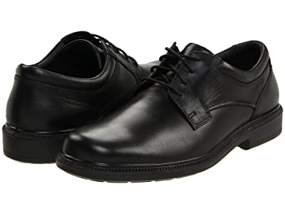 Hush Puppies Strategy (Black Leather) Men