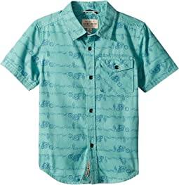 Lucky Brand Kids - Short Sleeve Printed Shirt (Little Kids/Big Kids)