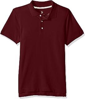 U.S. POLO ASSN. boys New Short Sleeve Pique Polo Shirt in Husky Sizes Polo Shirt