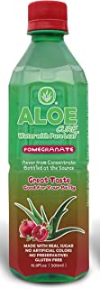 Pomegranate AloeCure Juice with Pulp, Aloe Vera Drink, Pack of 12 500ml Bottles