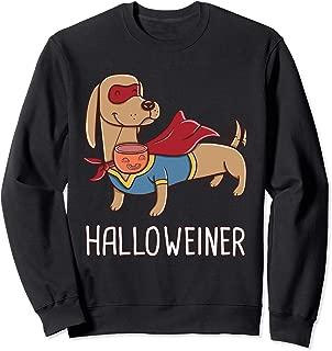 Happy Halloweiner Dachshund Sausage Weiner Dog Halloween Sweatshirt