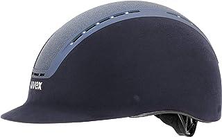 uvex Erwachsene suxxeed Glamour Reithelm Blue, 57-59 cm