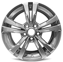 Road Ready Car Wheel For 2010-2017 Chevrolet Equinox 17 Inch 5 Lug Gray Aluminum Rim Fits R17 Tire - Exact OEM Replacement - Full-Size Spare