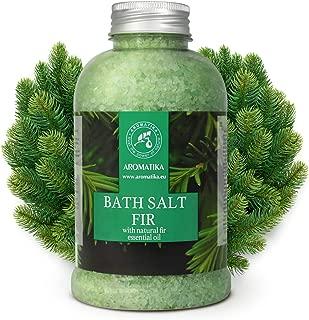 Fir Bath Salt with Natural Fir Essential Oil 600g - Natural Bath Sea Salt - Coniferous Salts - Best for Bath - Good Sleep - Relaxing - Body Care - Beauty - Aromatherapy