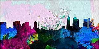 Trademark Fine Art Melbourne City Skyline by NAXART, 12x24, Multiple