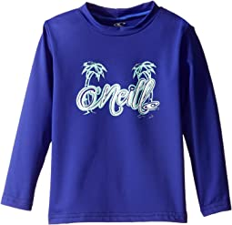 Skins Long Sleeve Rash Tee (Infant/Toddler/Little Kids)