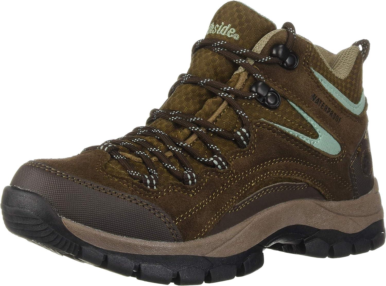 Northside Womens Pioneer Mid Leather Waterproof Hiking shoes