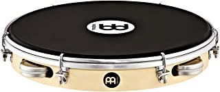 "Meinl Percussion Shaker Pandeiro with Poplar Wood, 10"" — NOT MADE IN CHINA — Synthetic Napa Head and Aluminum Pods, 2-YEAR WARRANTY (PAS10PW-NH)"