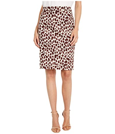 J.Crew No.2 Pencil Skirt in Giraffe (Neutral/Brown) Women