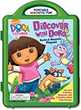 Discover with Dora Book & Magnetic Playset