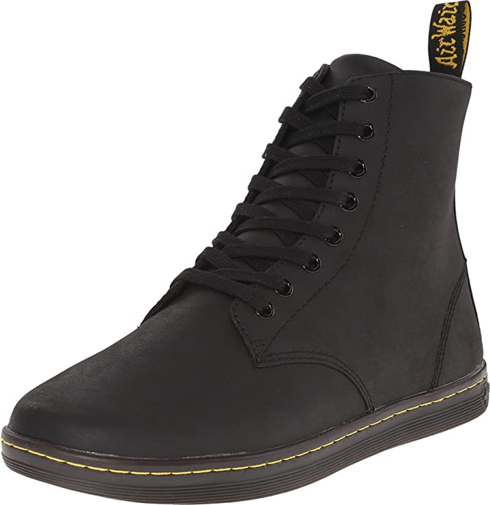 Dr Martens Tobias 8 Eye Boot Greasy Lamper