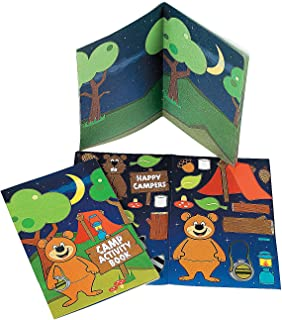 Fun Express - Camp Activty Book with Stickers - Stationery - Activity Books - Activity Books - 12 Pieces