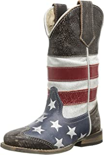 Square Toe Americana Western Boot (Toddler/Little Kid)