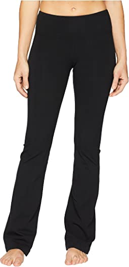 Flat Waist Wide Flare Pants