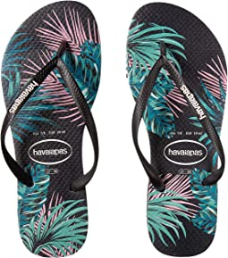 Slim Tropical Floral Sandal