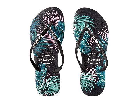 00f6a0f17bca Havaianas Slim Tropical Floral Sandal at Zappos.com