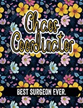 Chaos Coordinator Best surgeon Ever.: surgeon Gifts, 2021 - 2021 2 Year Monthly Planner 24 Month Calendar, Gift For surgeon