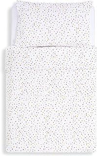 Snuz Designz Duvet and Pillow Case Set, Multi Spot, Multi-Colour, 630 g