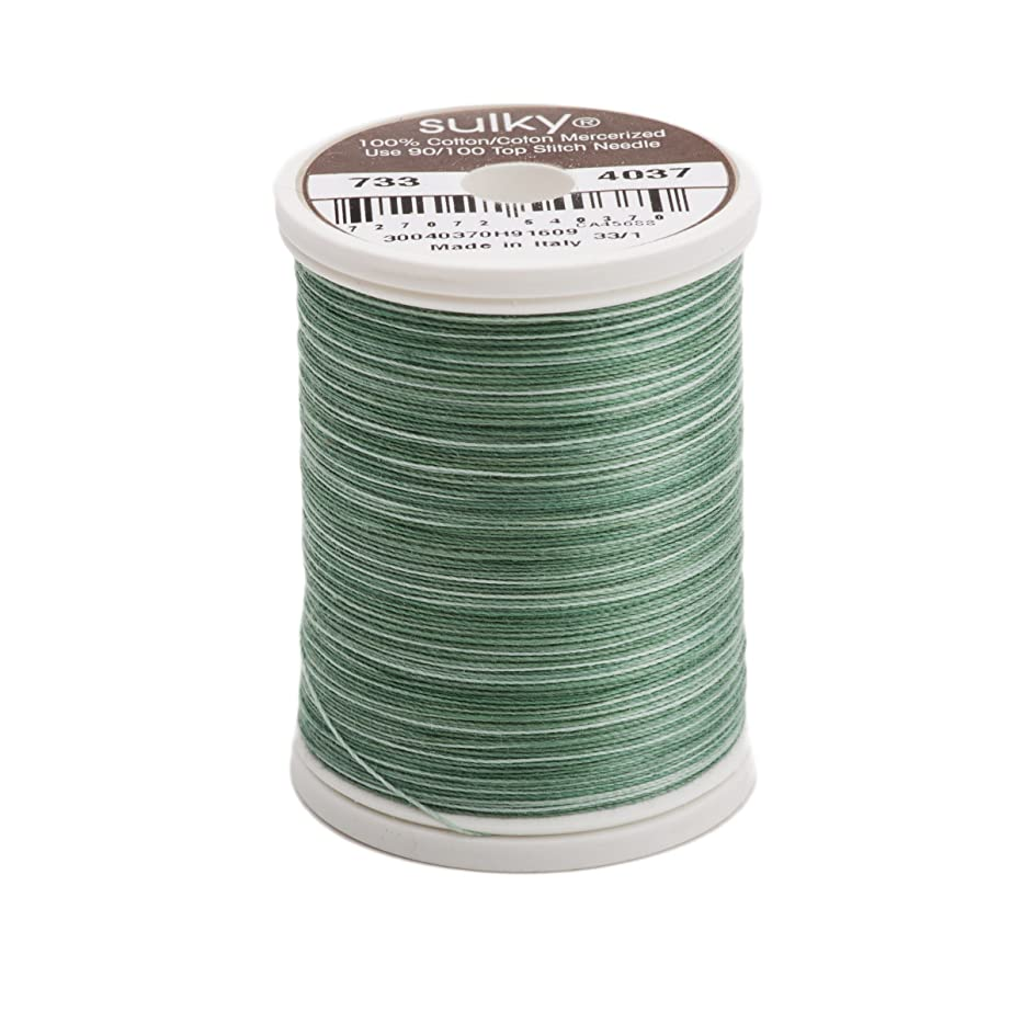 Sulky Blendables Thread for Sewing, 500-Yard, Saucy Sages