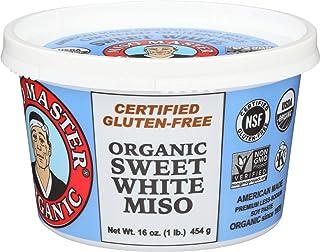 Miso Master Miso Sweet White Low salt Organic, 16 oz