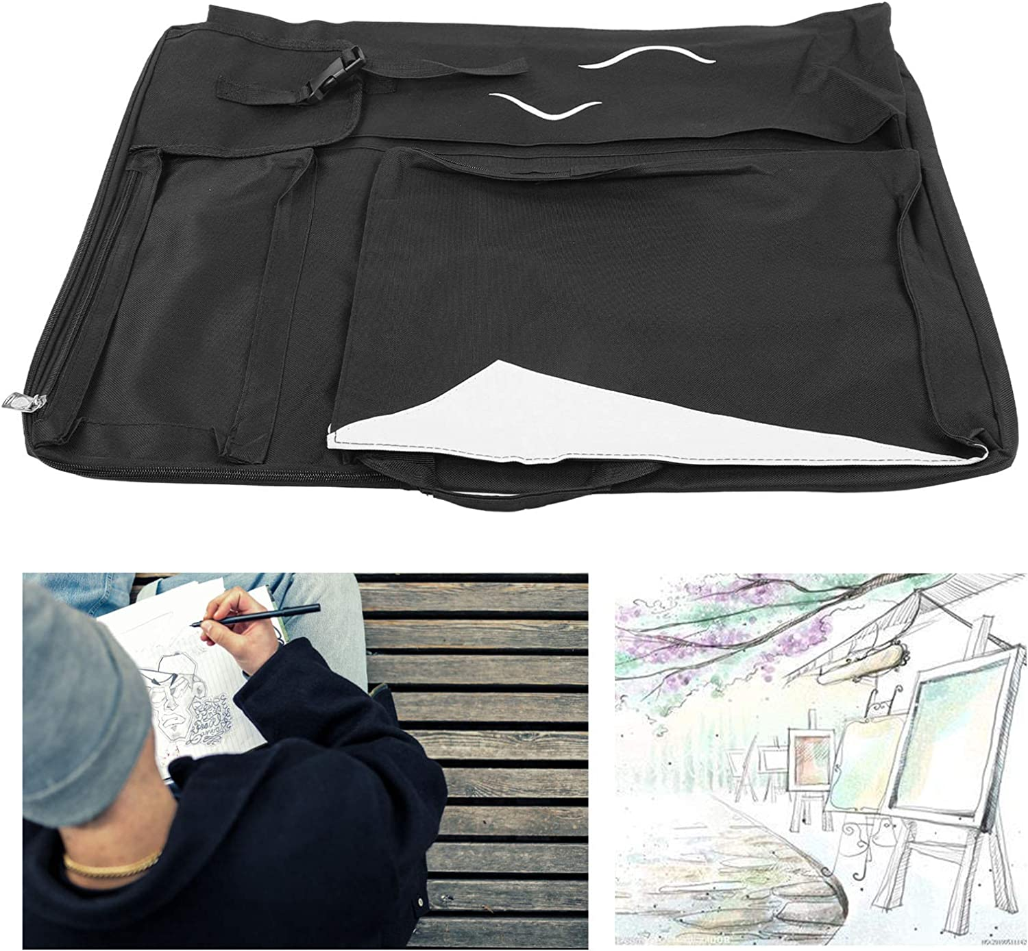 Ultra-Cheap Deals Evonecy Art Drawing overseas Bag Durable Firm Sketch and Wear Sturdy