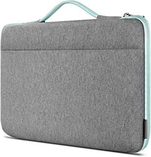 Inateck Shockproof Laptop Sleeve Case Briefcase Spill Resistant Compatible 14 Inch Laptops,15'' Macbook Pro 2018/2017/2016 , Notebooks, Ultrabooks, Netbooks, with Extra Storage Space