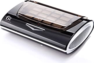 ClearHouse Smart Control Home and Car, HEPA,Purifier, Freshener. Including Spare Filter. USB, UV Light, Odors, Smells, Smoke, Germs, Multi-Filtration, Black, Silver