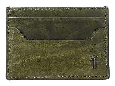 Frye Austin Card Case (Pine) Handbags