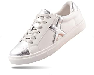 Women's Comfortable Fashion Sneakers Memory Foam Lace-up...