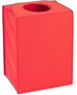 Brabantia 104220 Sac à Linge Transportable Rectangulaire Rouge 29,5 x 40,5 x 54 cm