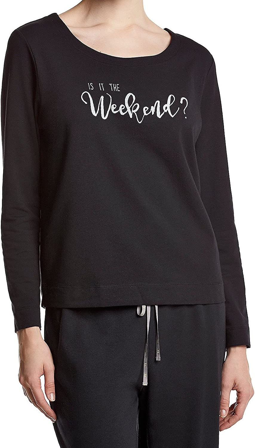 HUE Women's is It Weekend? Animer and price revision Austin Mall Pajama The Top