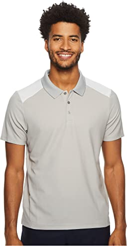 Color Block Jacquard Polo