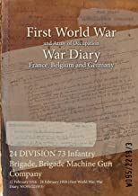 24 DIVISION 73 Infantry Brigade, Brigade Machine Gun Company : 22 February 1916 - 28 February 1918 (First World War, War Diary, WO95/2219/3)