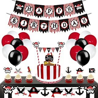 Best pirate themed birthday party decorations Reviews