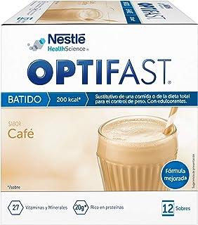 OPTIFAST Batido Café. Envase de 12 sobres x 53g
