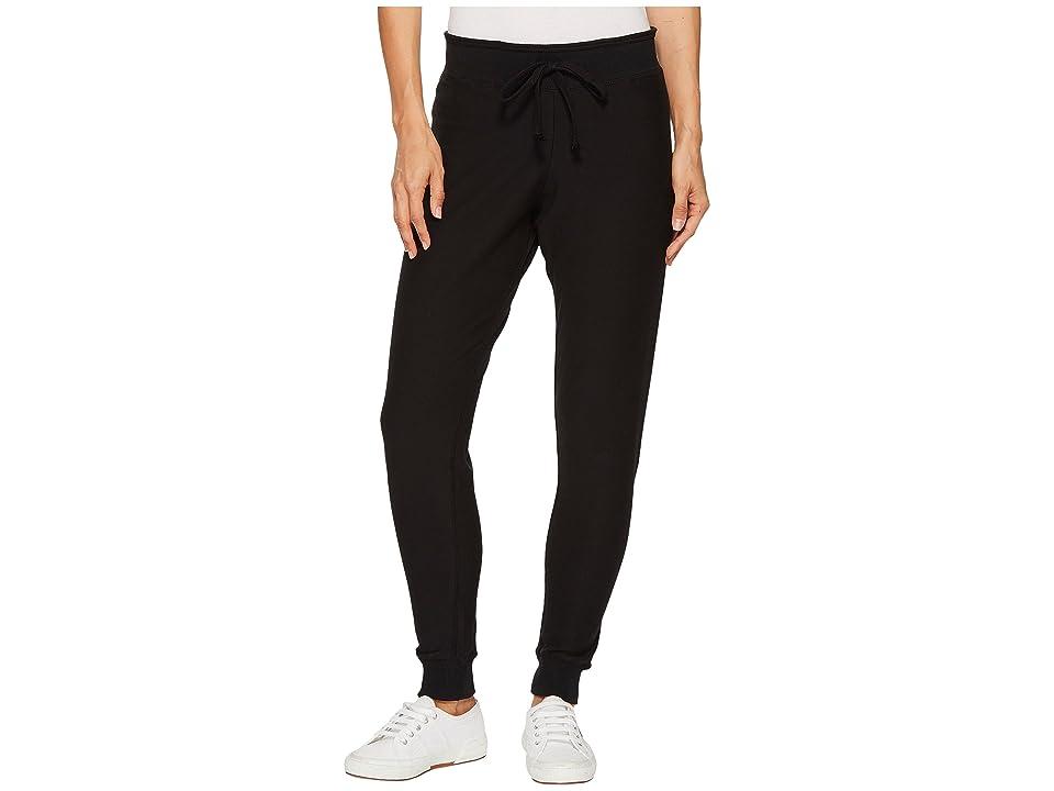 Plush Super Soft Skinny Sweatpants (Black) Women
