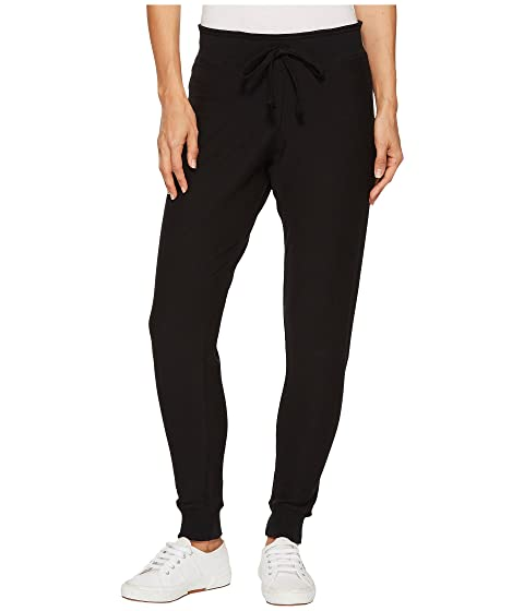 Super Soft Fleece Lined Skinny Sweatpant in Black. - size L (also in M,S) Plush Apparel